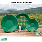 NEW Комплект за самородно злато Garrett Gold Pan kit