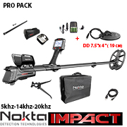Металотърсач Nokta Impact PRO Package